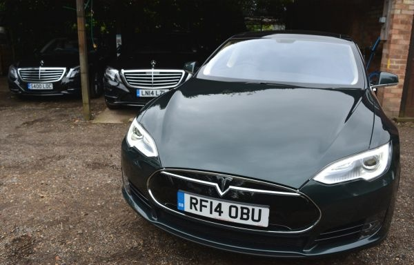 PD website supplier focus Chauffeur Rentals tesla