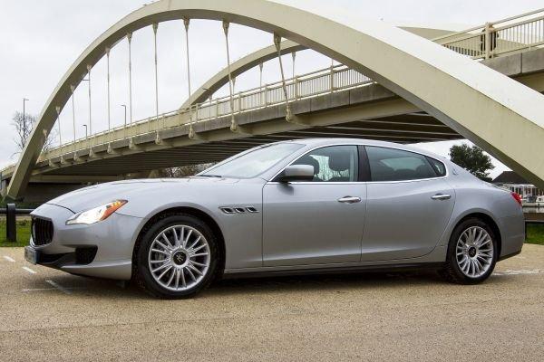 PD chauffeur profile Quintessentially Driven - Maserati Quattroporte