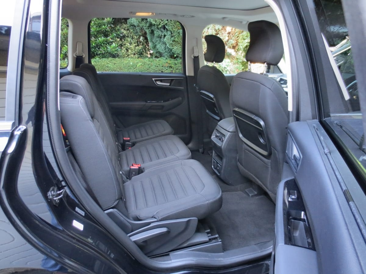 Ford Galaxy rear seats