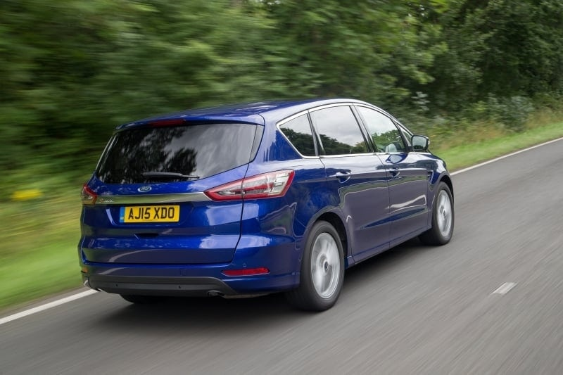 PD website Road Test Ford S MAX rear