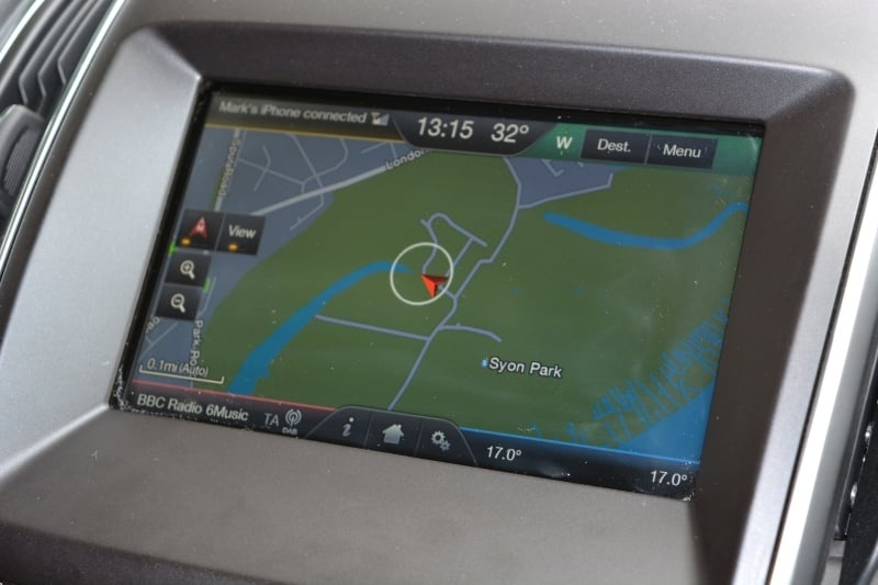 PD website Road Test Ford S MAX satnav