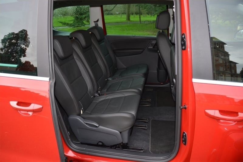 PD web test Seat Alhambra back seats