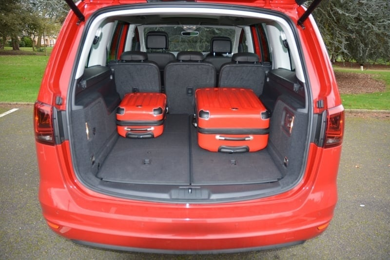 PD web test Seat Alhambra boot 5 seat