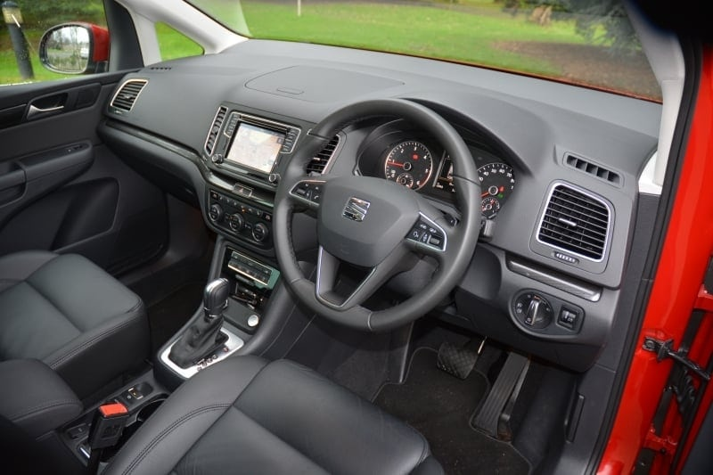 PD web test Seat Alhambra front seats