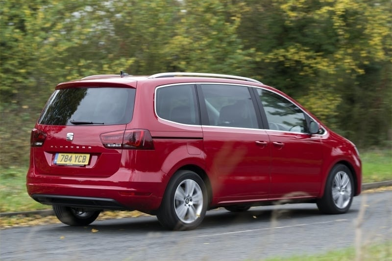 PD web test Seat Alhambra rear