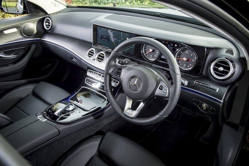 PD website road test Mercedes E220d estate front seat