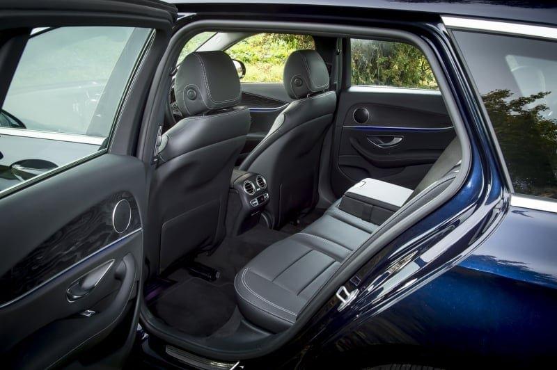 PD website road test Mercedes E220d estate rear seat