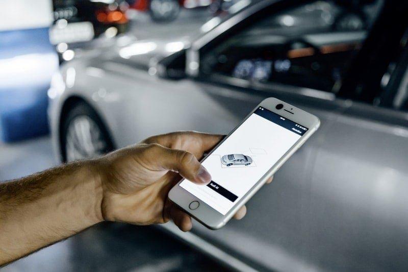 PD website road test Audi A8L patrking app