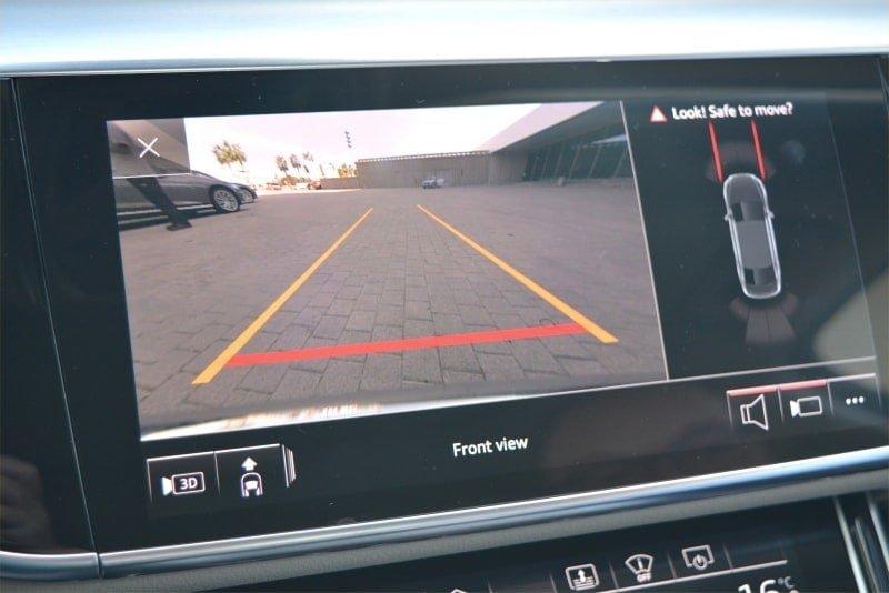 PD website road test Audi A8L reversing camera