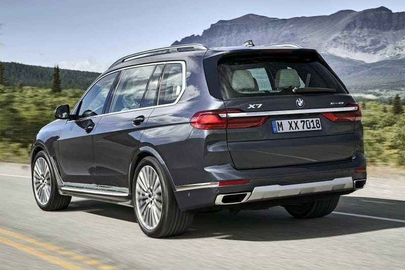 PD BMW X7 rear