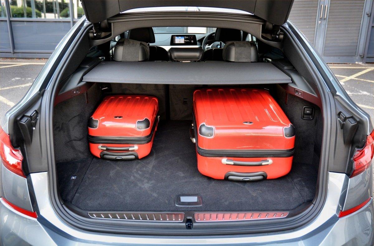 BMW 630d GT boot