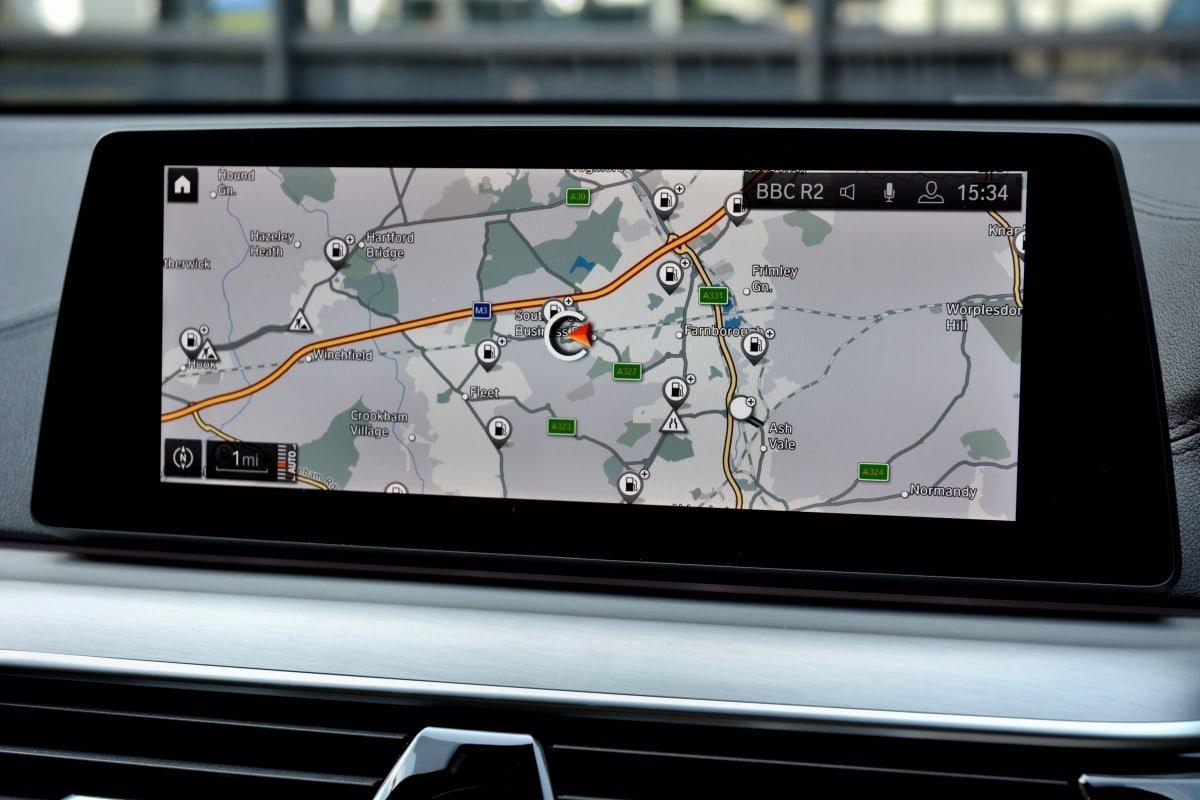 BMW 630d satnav