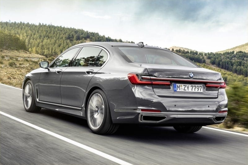 PD website news BMW 7 series rear