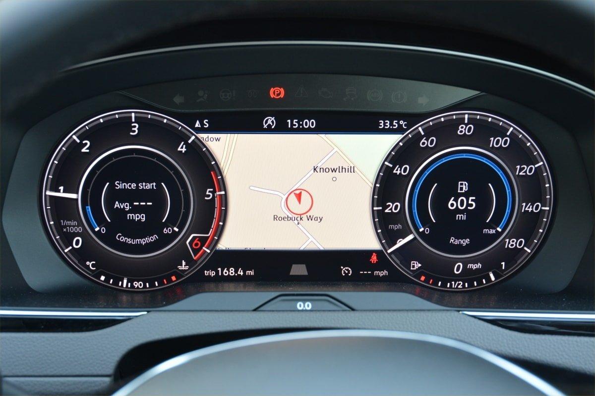 VW Arteon dashboard