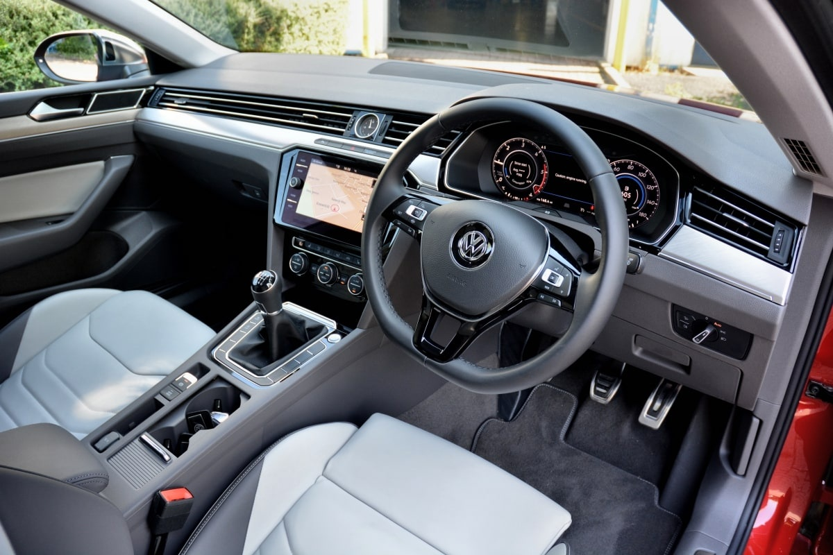 VW Arteon front seat