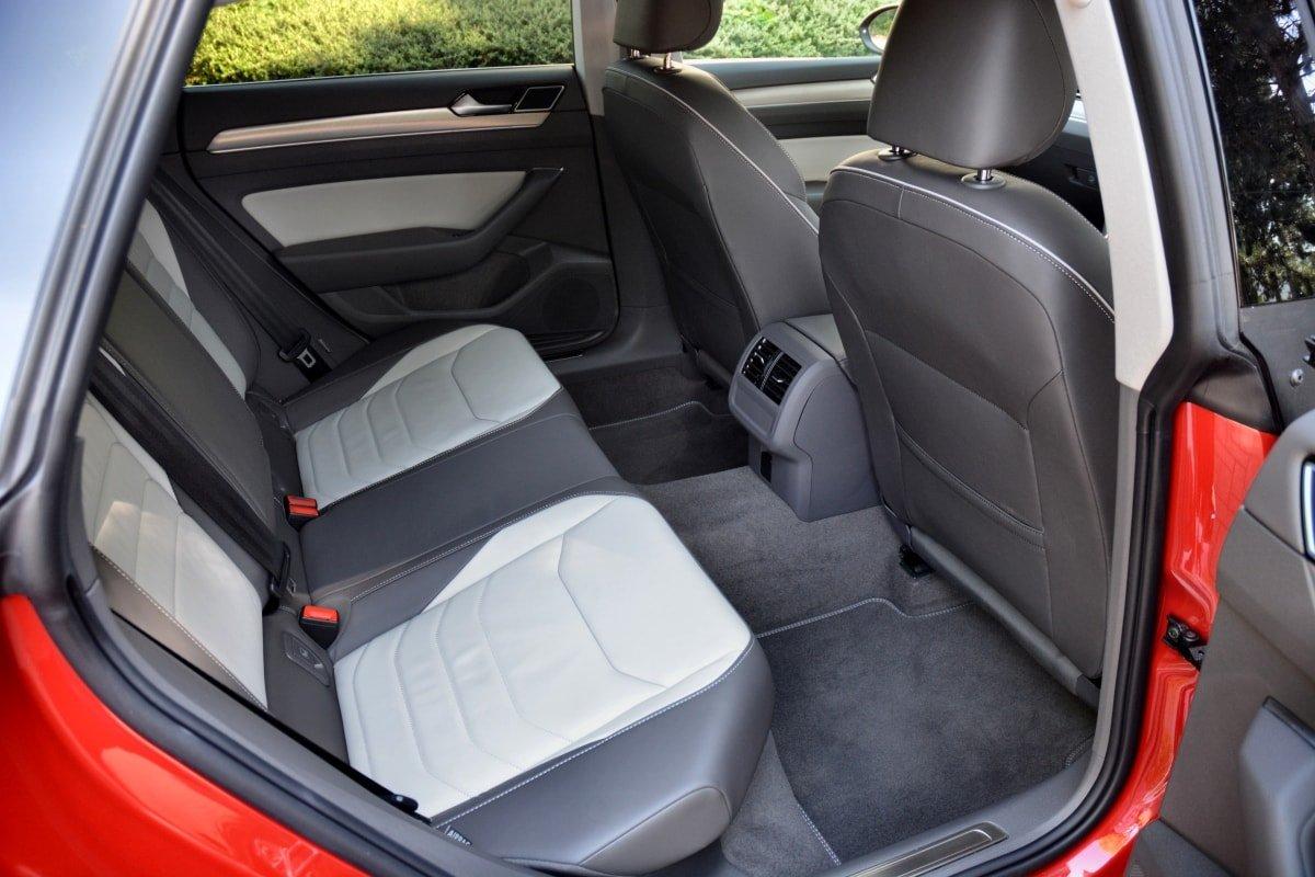 VW Arteon rear seat