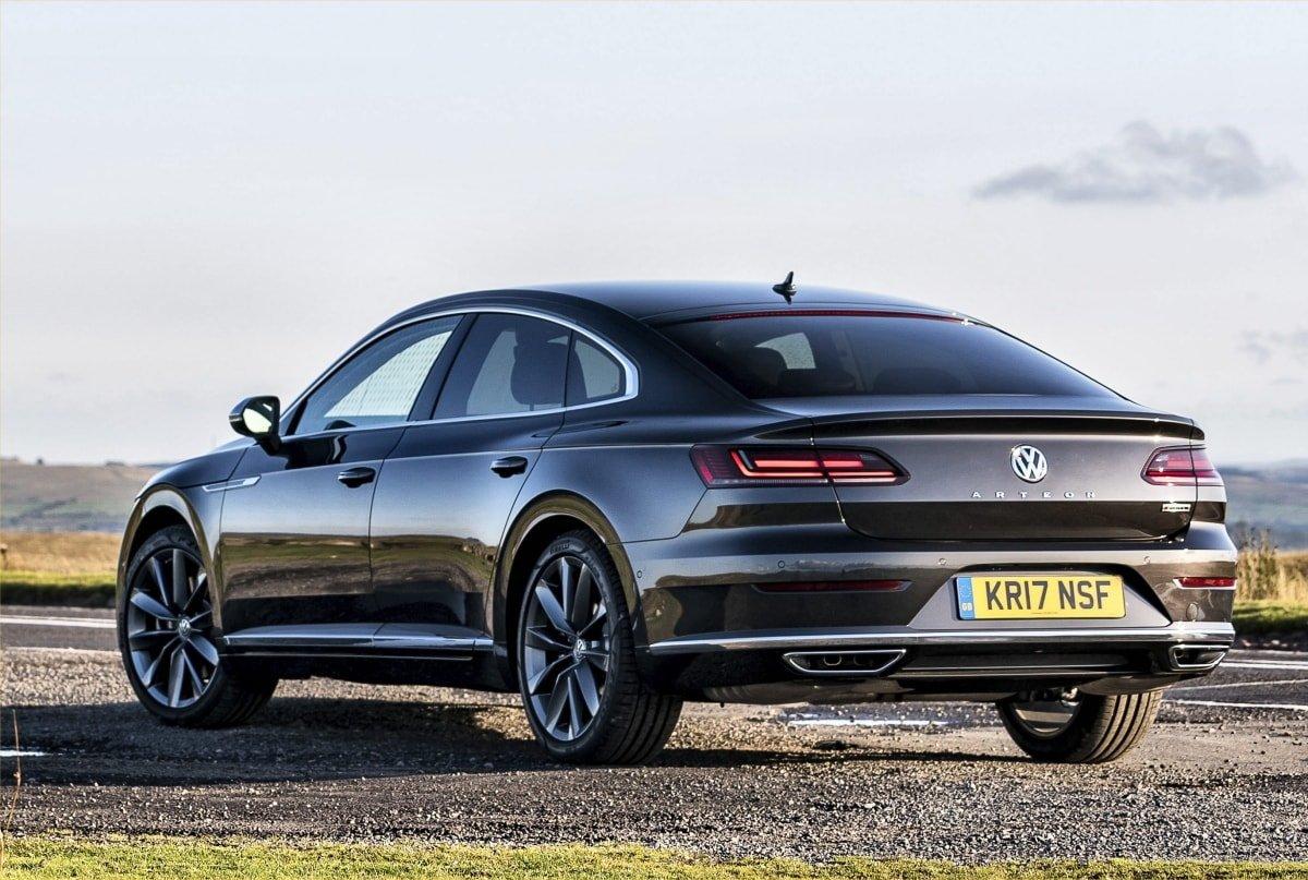 VW Arteon rear