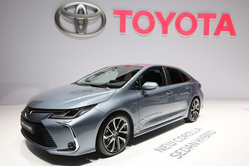 PD website Geneva 2019 Toyota Corolla sedan