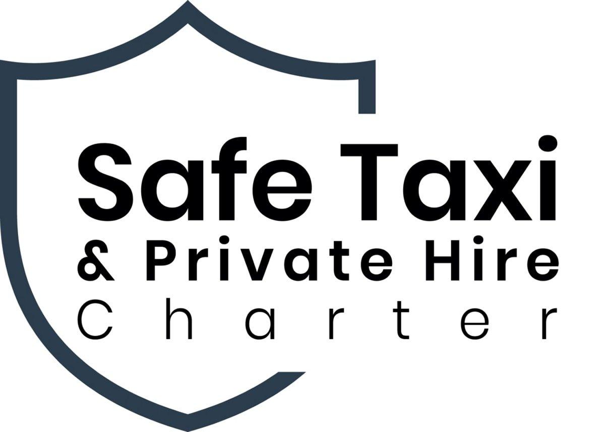 safe taxi charter logo