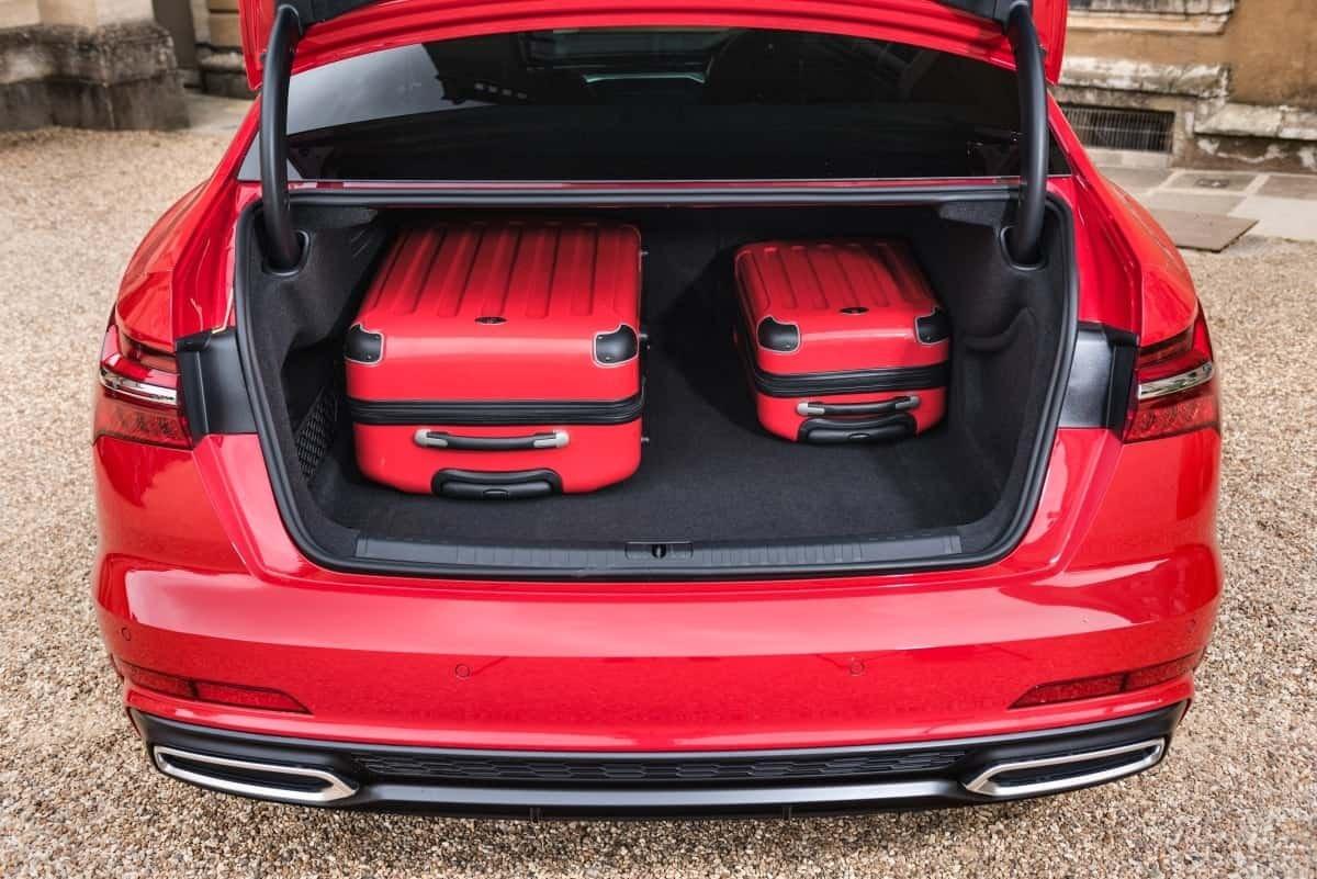 Audi A6 boot