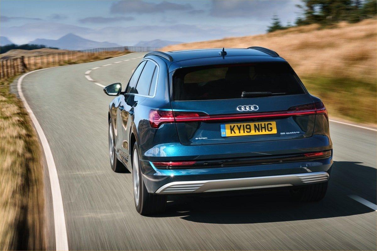 Audi e-tron rear