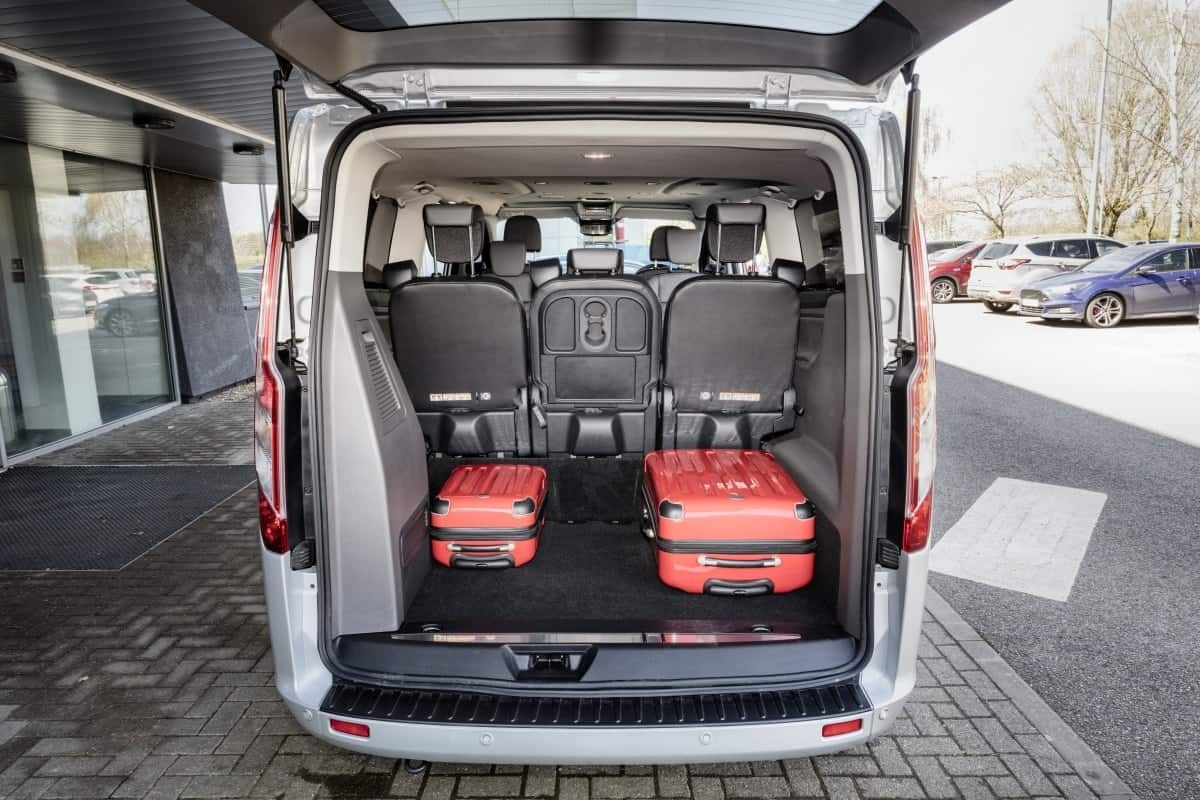 Ford Tourneo boot