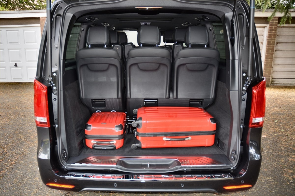 PD website road test Mercedes V-class boot
