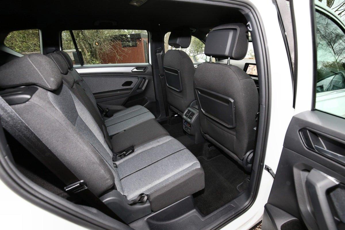 Seat Tarraco rear seat
