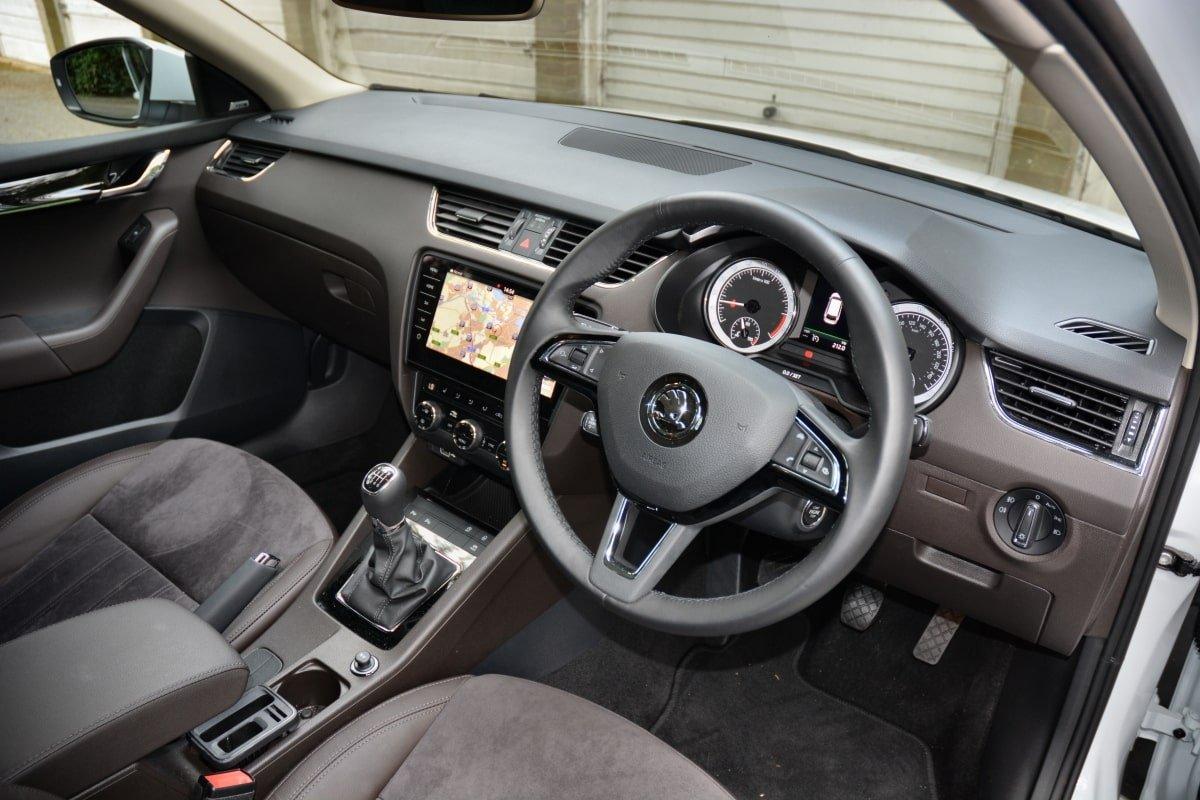 Skoda Octavia Estate front seat