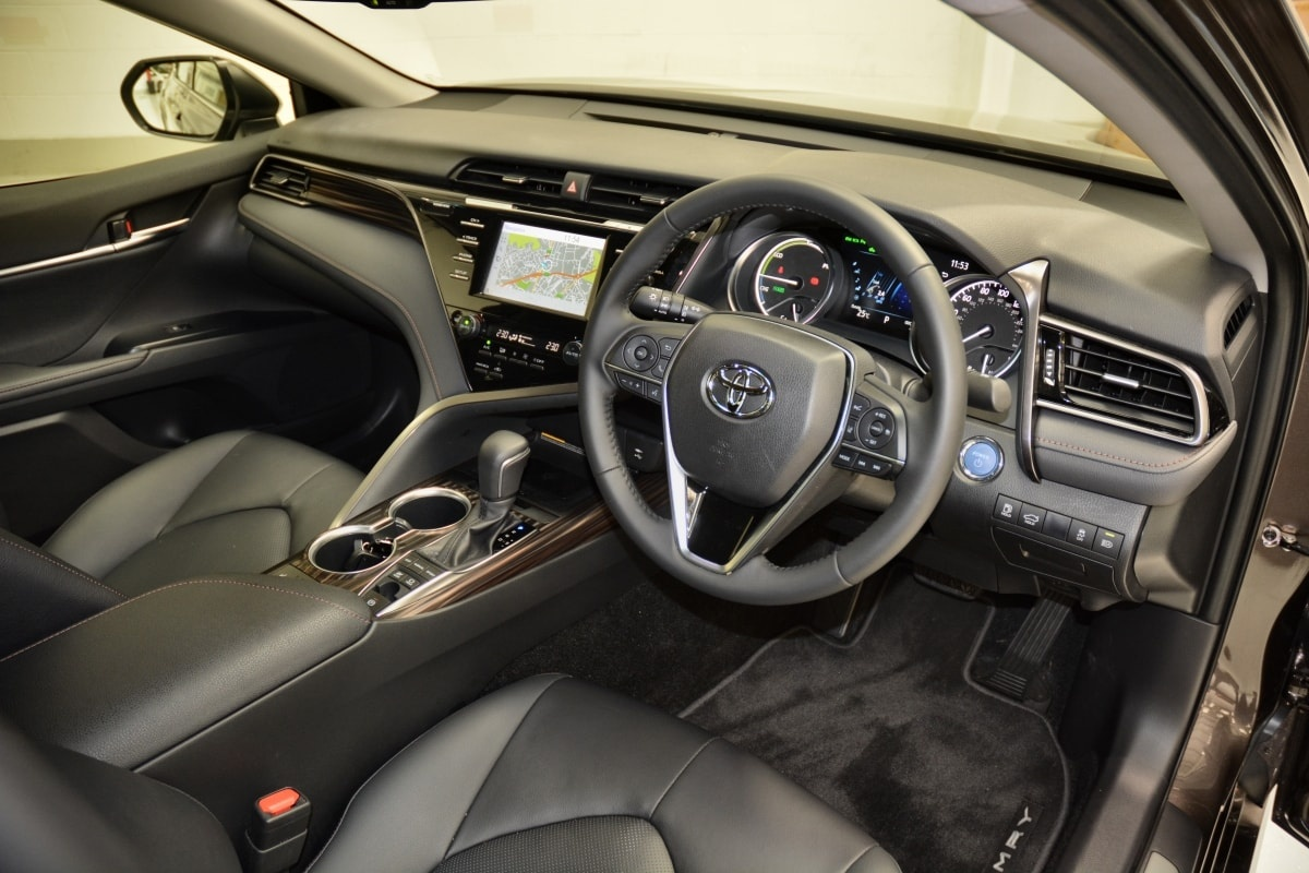 Toyota Camry front seat