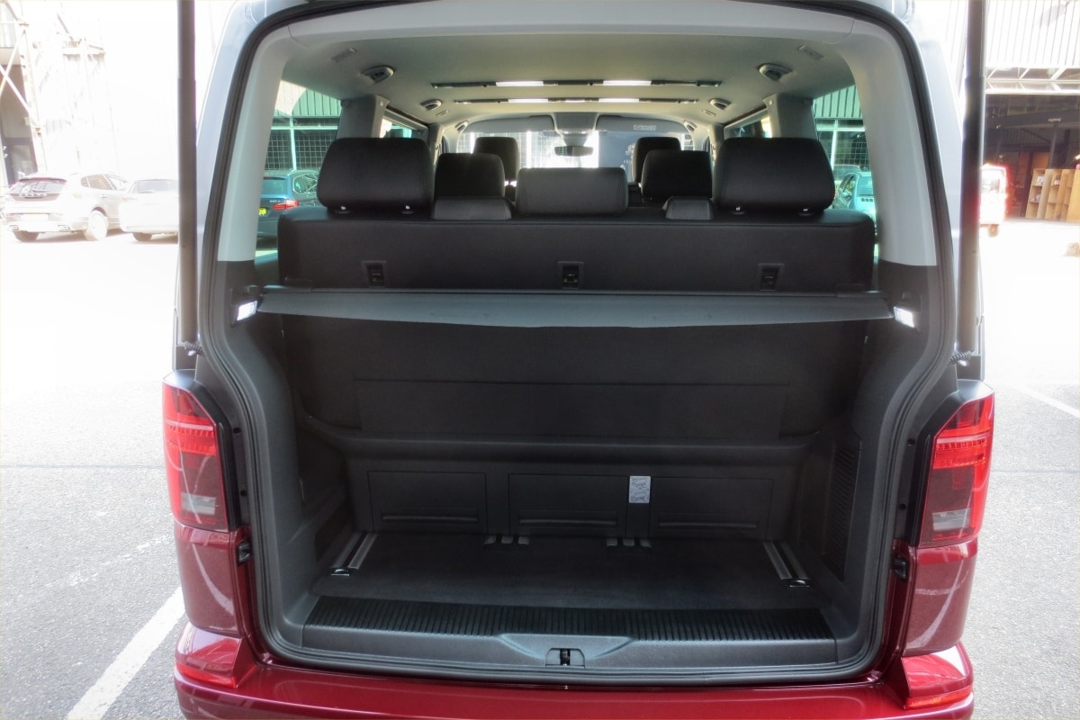 VW Caravelle boot
