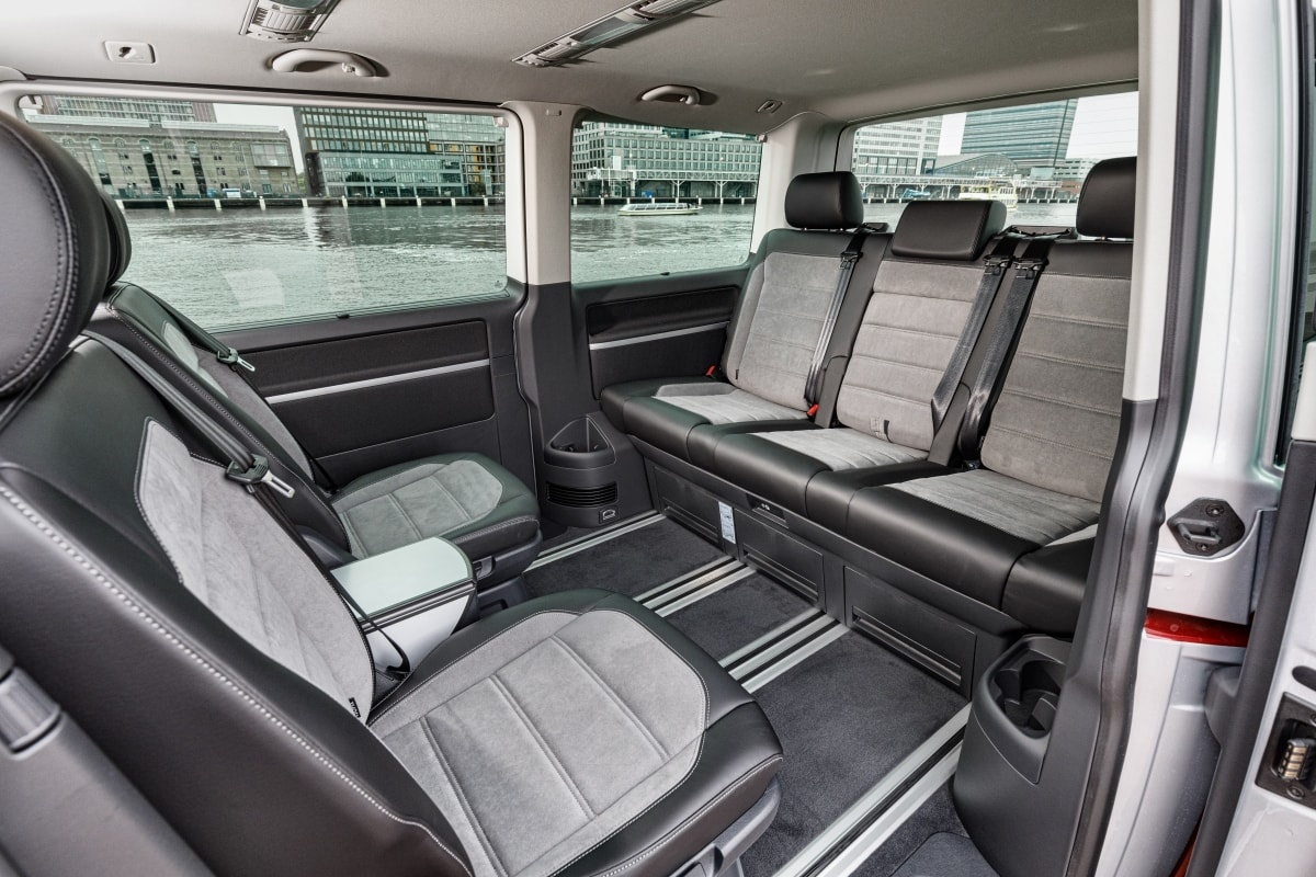 VW Caravelle interior conference