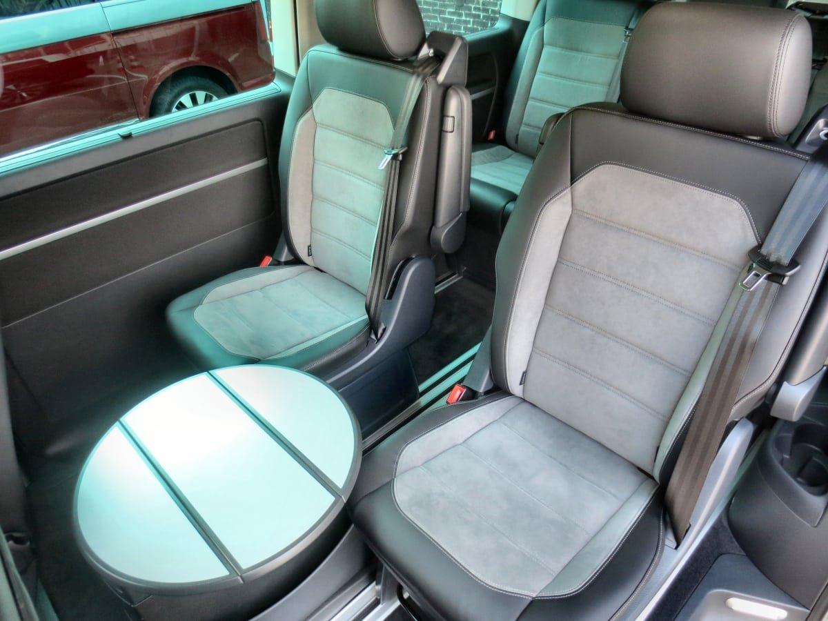 VW Caravelle interior