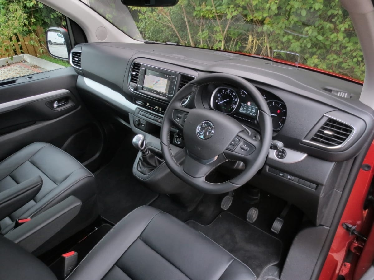 Vauxhall Vivaro Life front seat