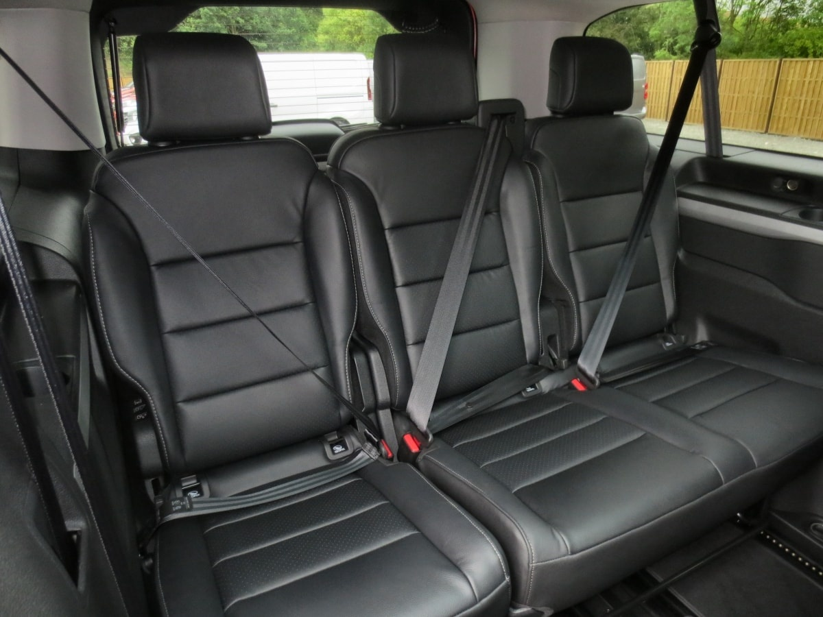 Vauxhall Vivaro Life third row seats