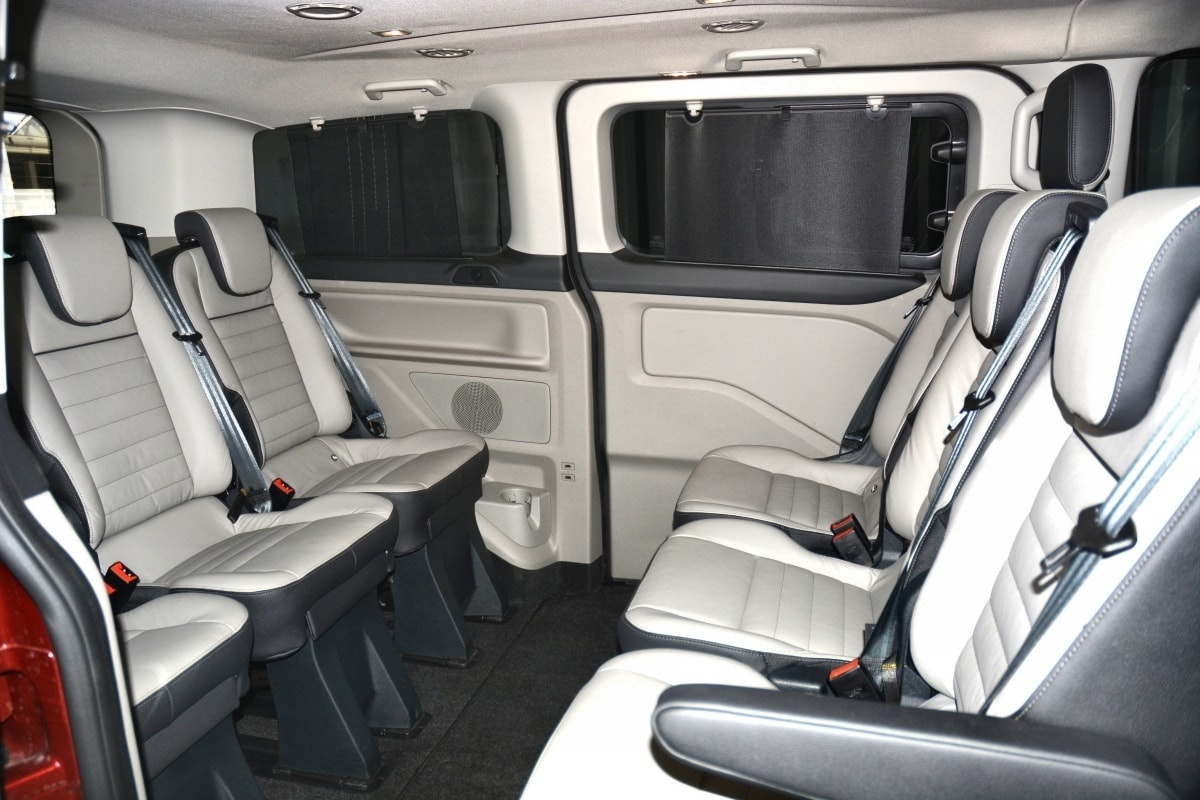 Ford Tourneo PHEV interior