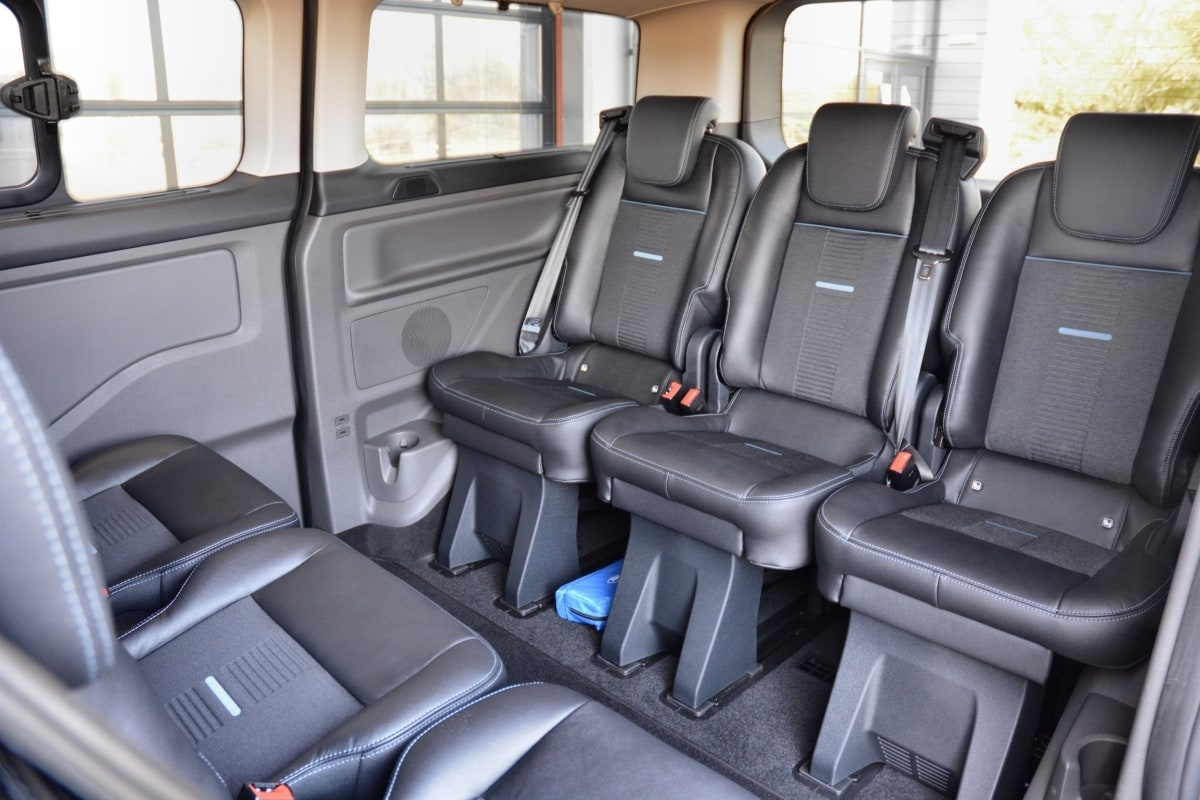 Ford Tourneo Active rear cabin