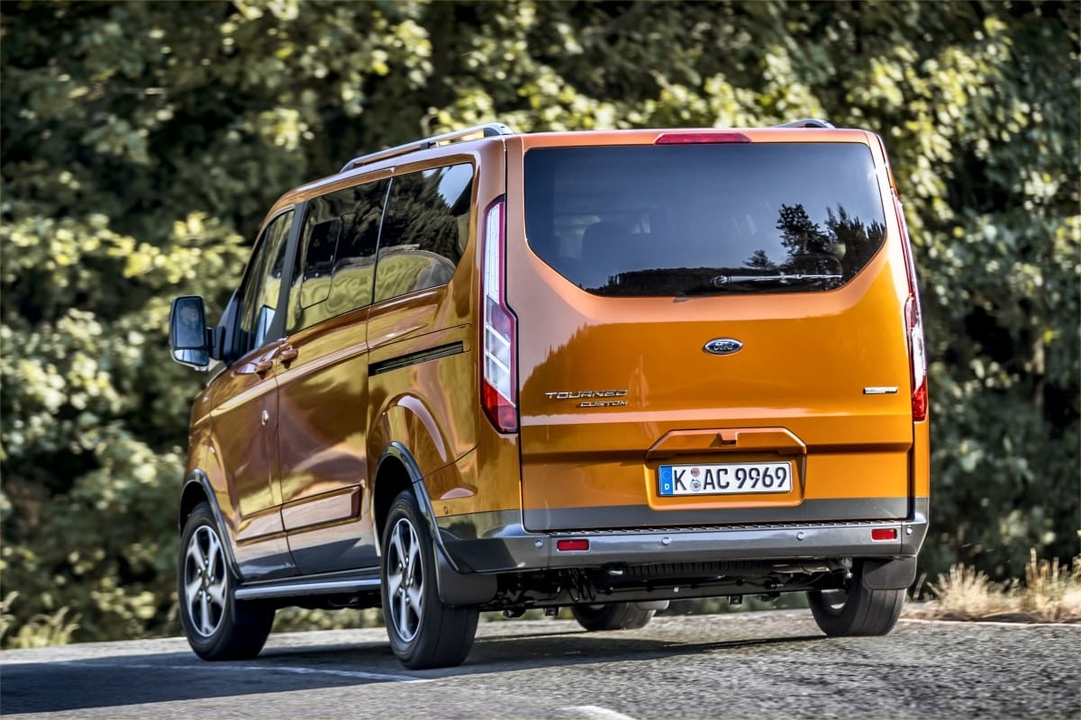 Ford Tourneo Active rear