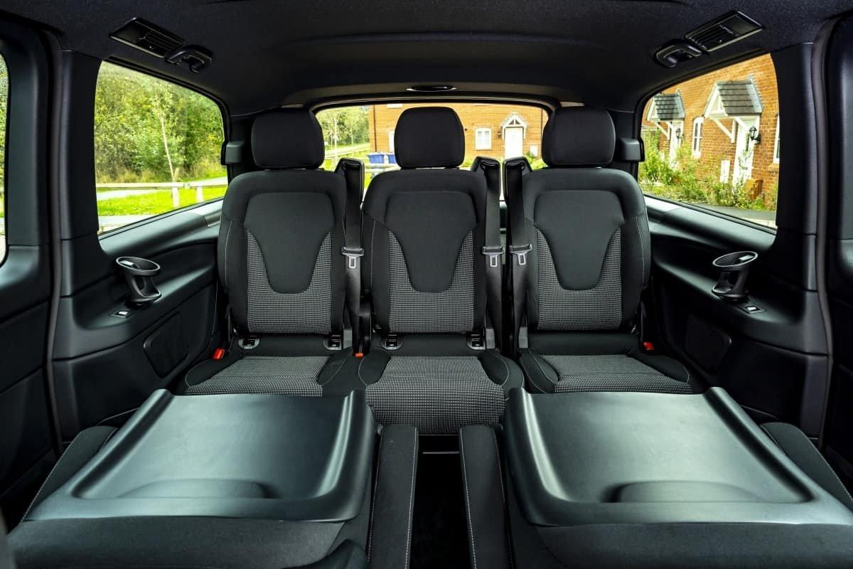 Mercedes EQV 3rd row seats