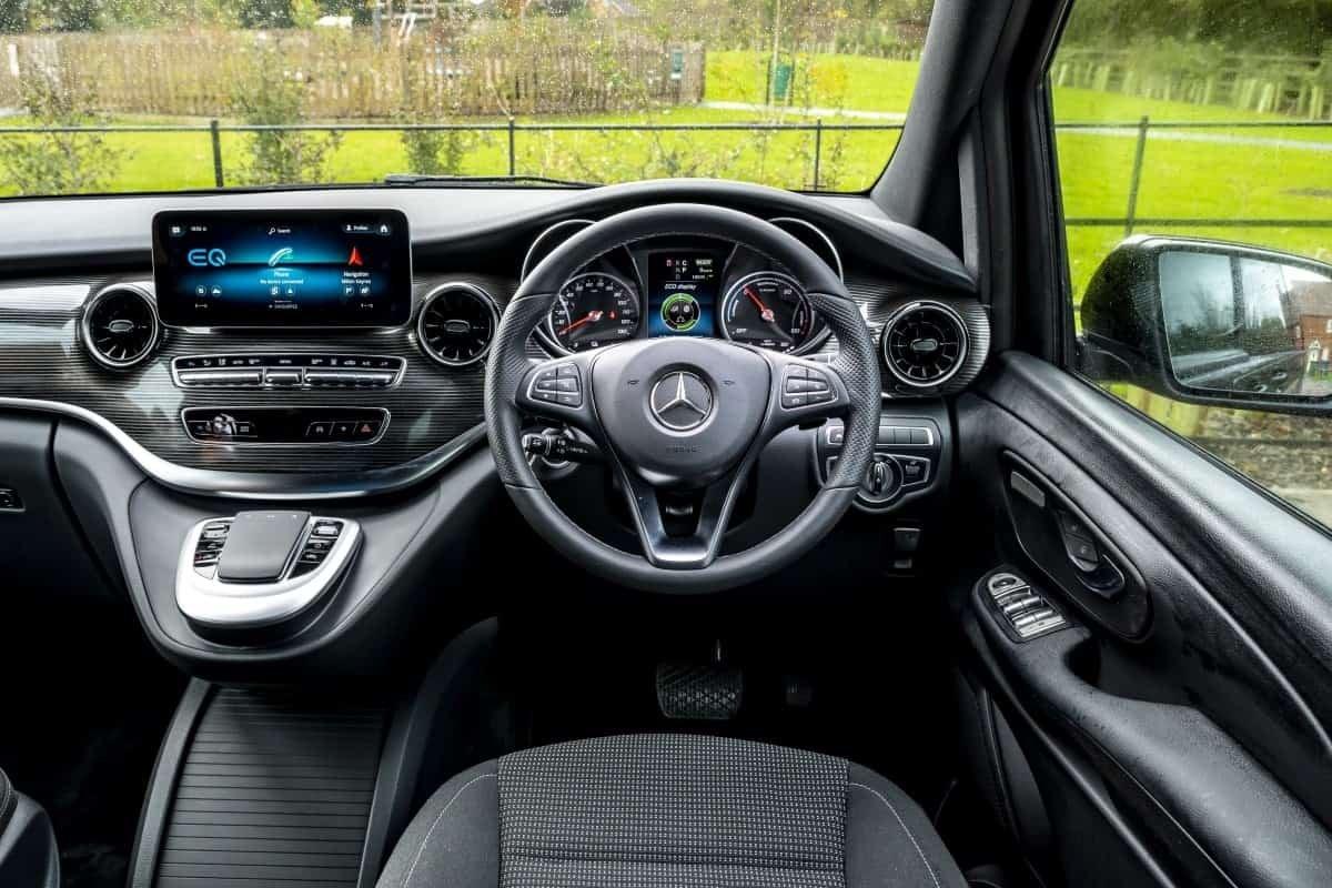 Mercedes EQV front seats