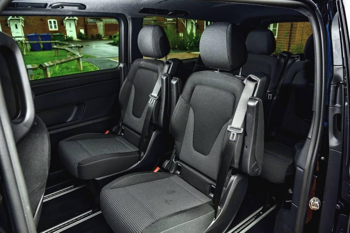 Mercedes EQV rear seats