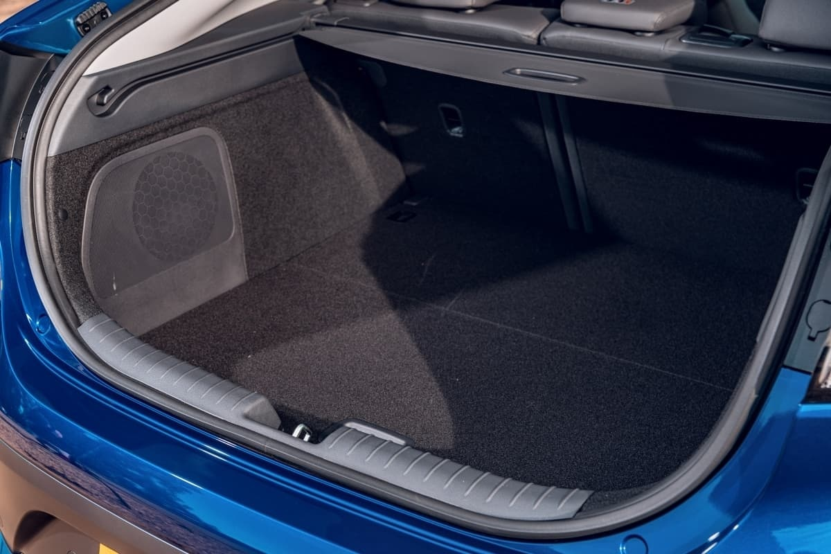 Hyundai Ioniq boot