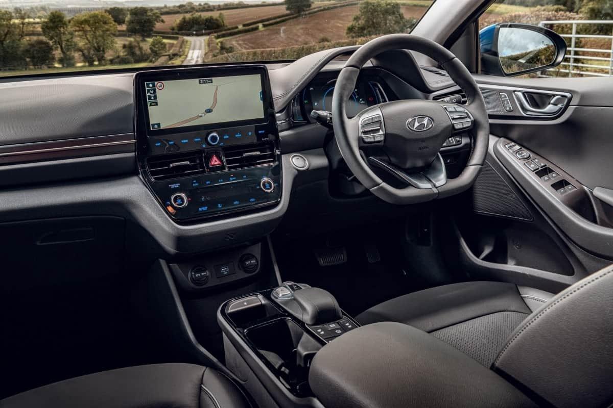 Hyundai Ioniq front seat