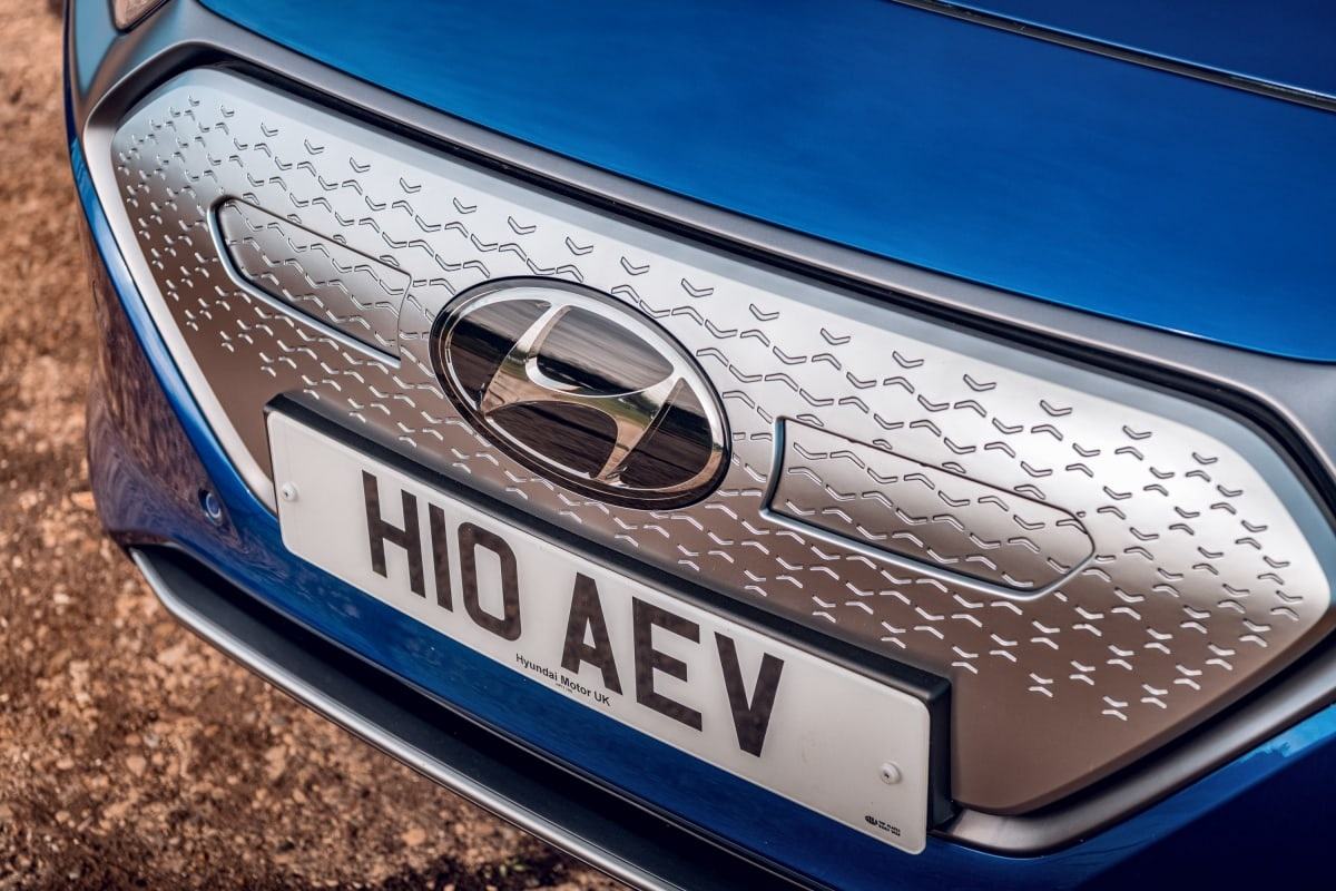 Hyundai Ioniq grille