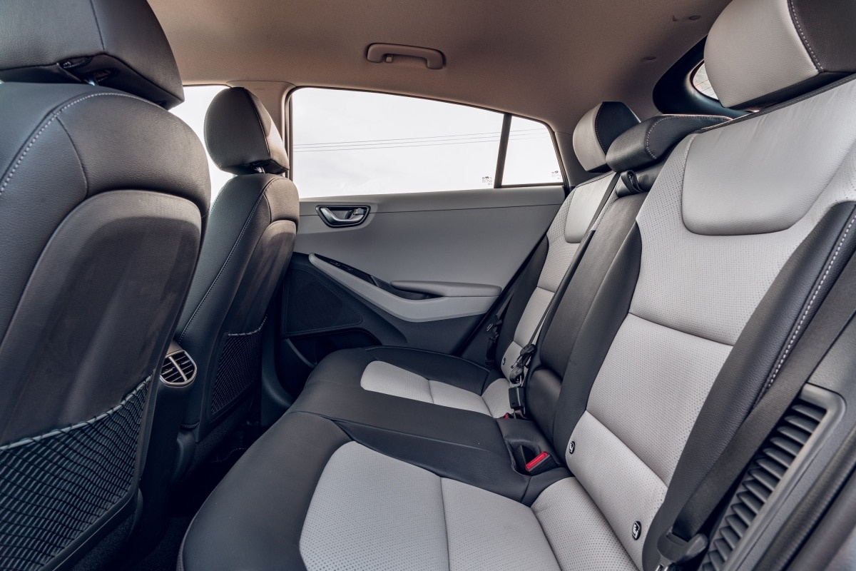 Hyundai Ioniq rear seat