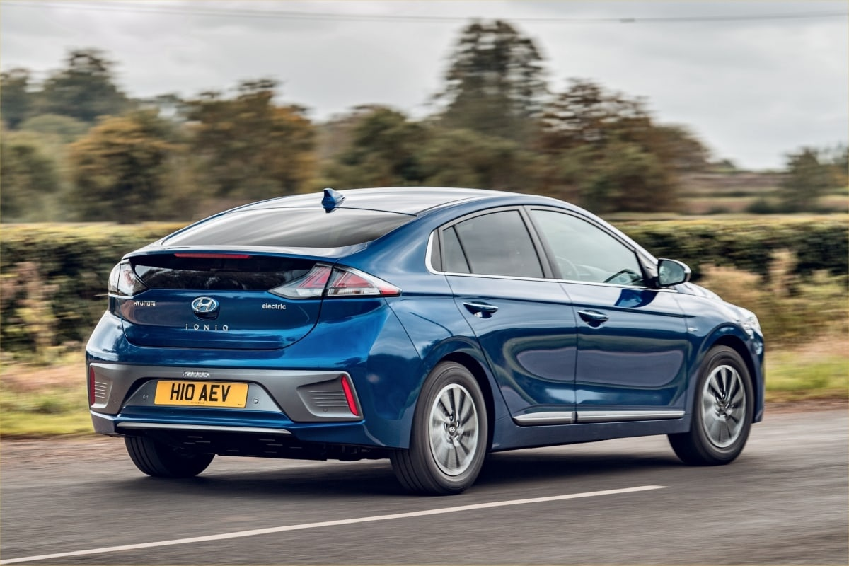 Hyundai Ioniq rear