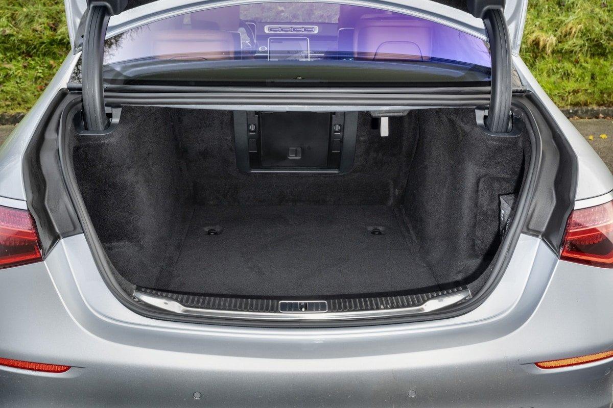 Mercedes S500 boot