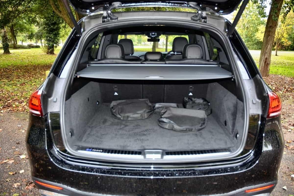 Mercedes GLE Boot