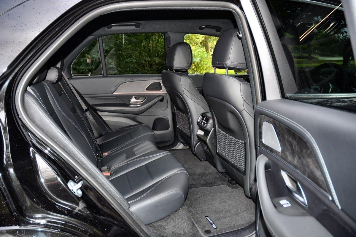 Mercedes GLE rear seats