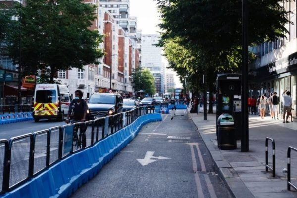 Court rules that TfL's car-free Bishopsgate move was not illegal